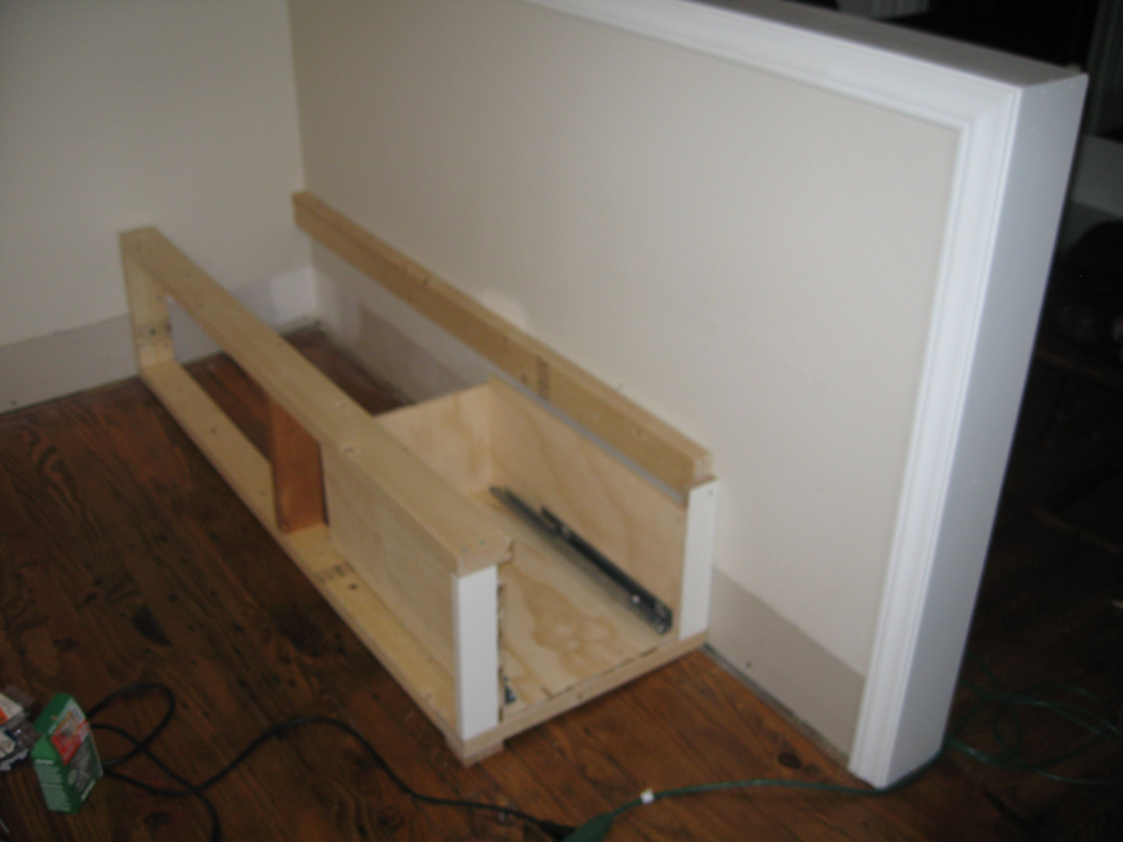 building the banquette frame   Jill Carson on