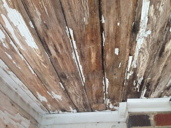 Repairing A Rotten Tongue And Groove Ceiling Jill Carson